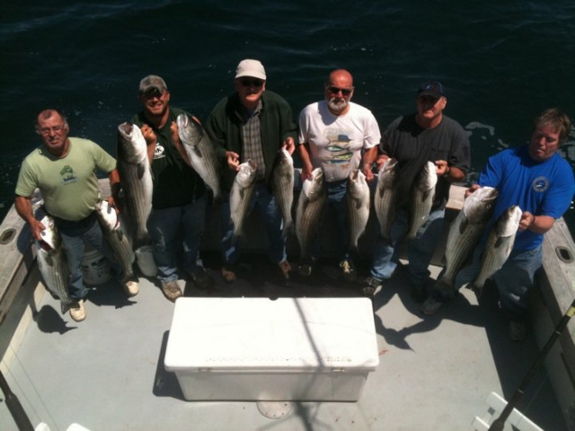 Block Island Striped Bass Fishing